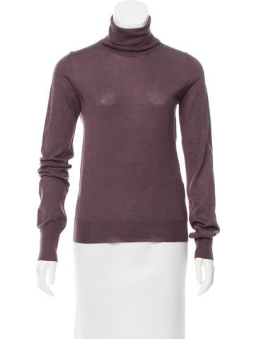 Hermès Cashmere Turtleneck Top None