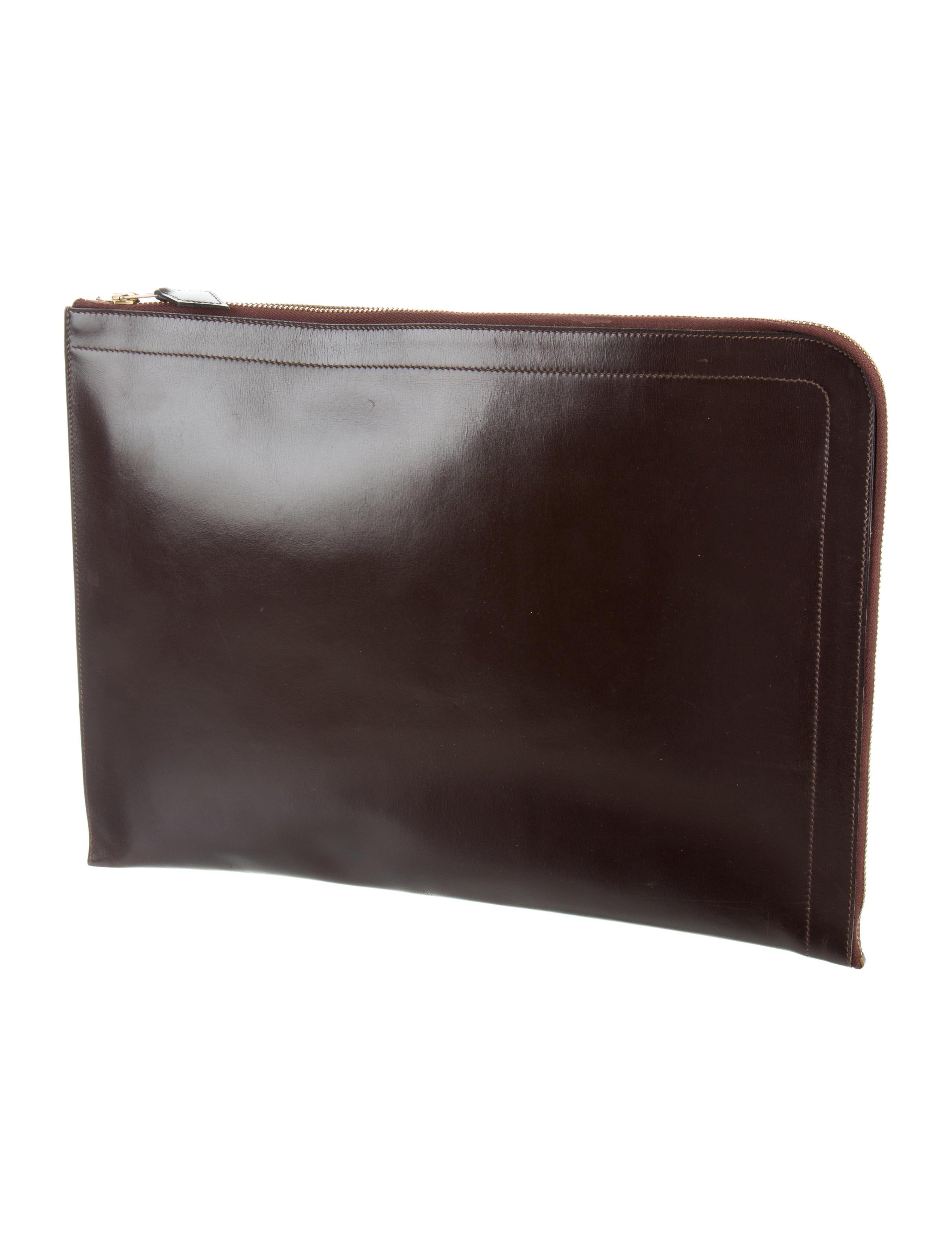 Hermes zip document holder bags her97440 the realreal for Document holder bag