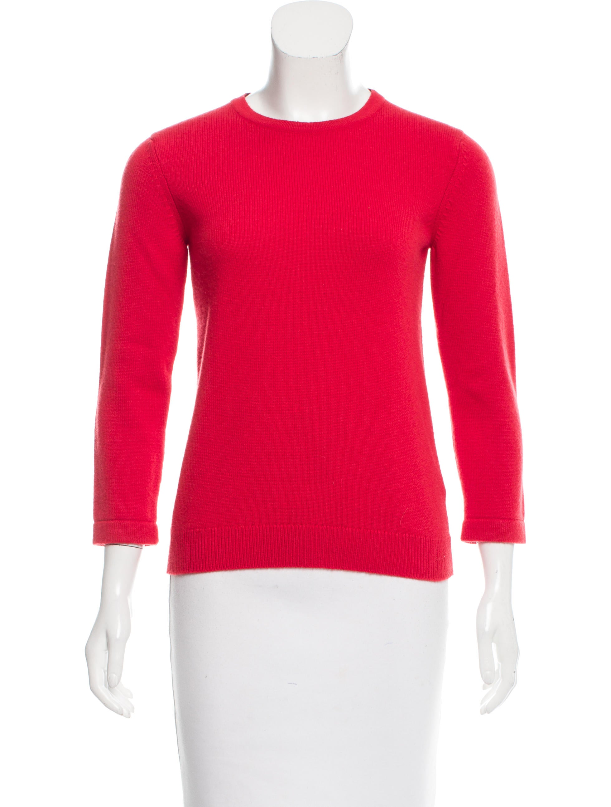 Hermes Cashmere Knit Sweater - Clothing - HER98373 The RealReal
