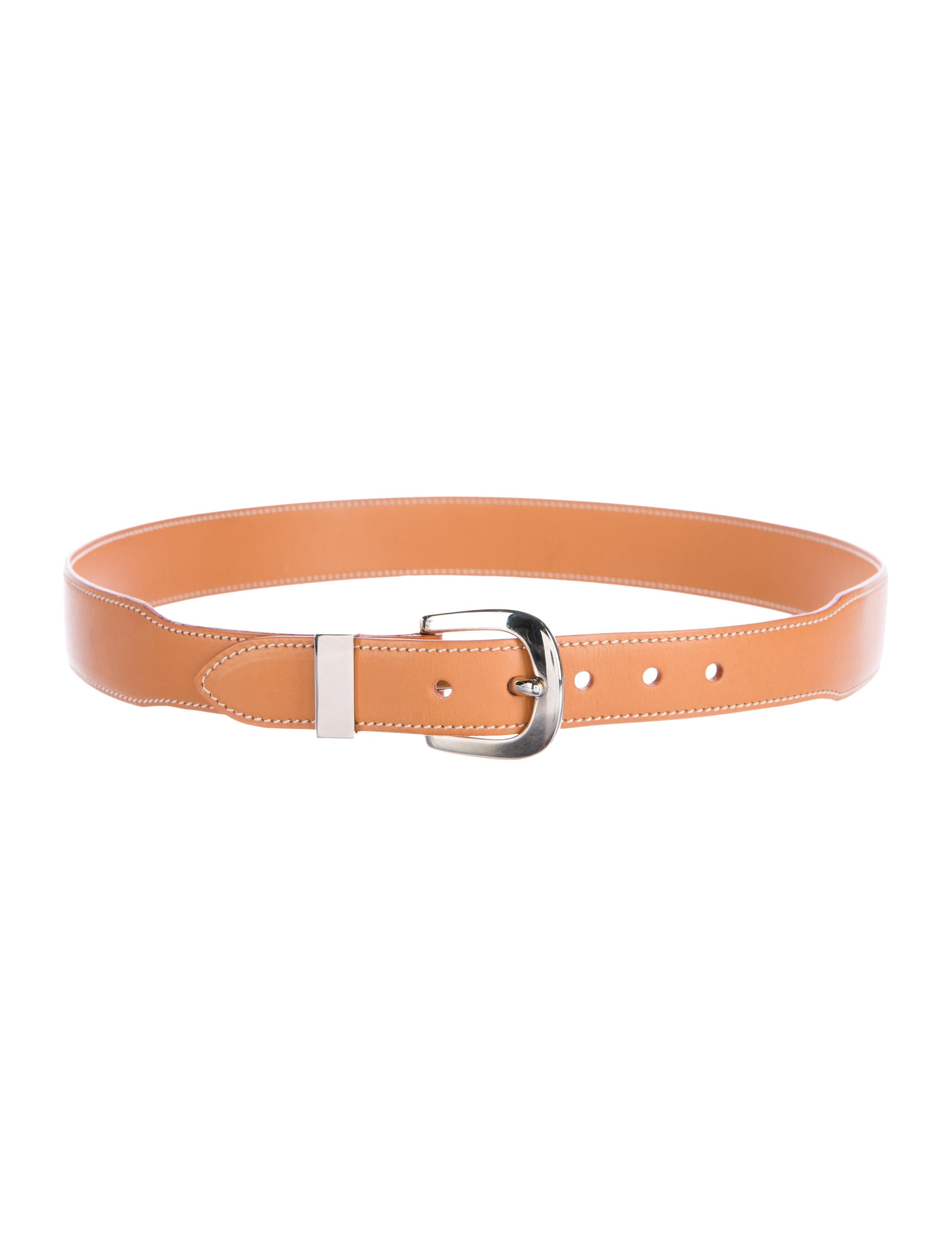 herm 232 s chamonix leather belt accessories her99421