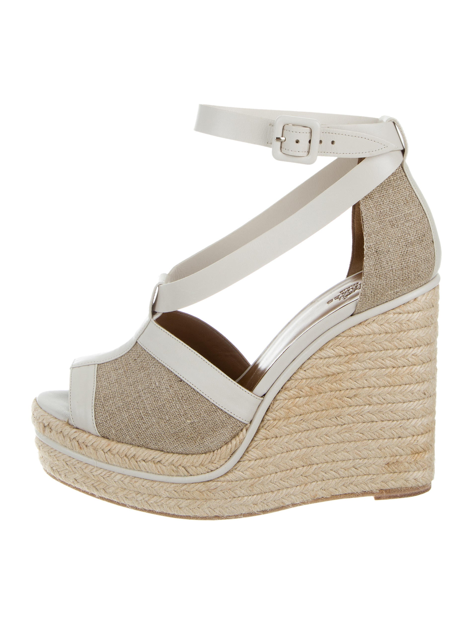 herm 232 s canvas platform wedge sandals shoes her99853