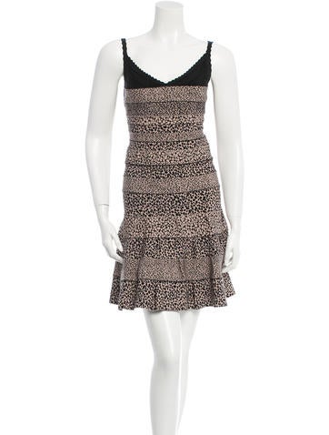 Nell A-Line Bandage Dress