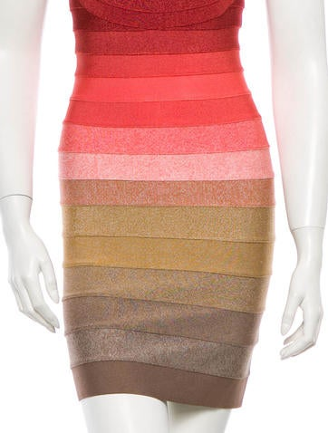 Babette Ombré Bandage Dress