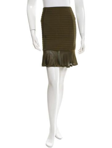 Herve Leger Bandage Mini Skirt None