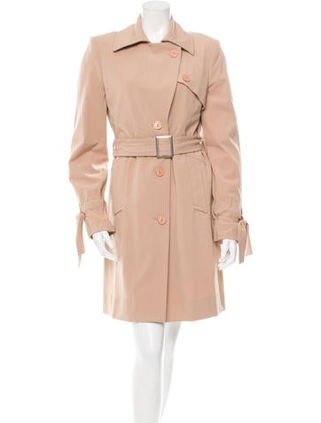 Knee-Length Trench Coat
