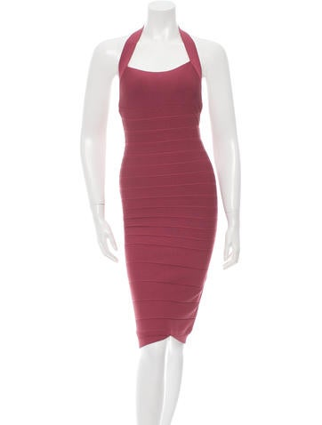 Herve Leger Bandage Midi Dress