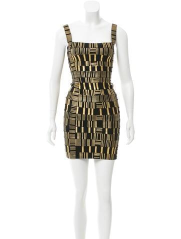 Herve Leger Teresa Bandage Dress