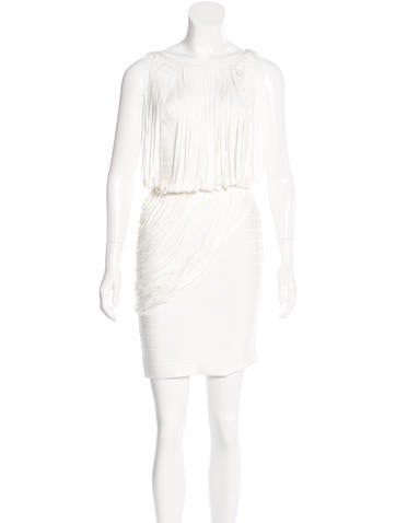 Herve Leger Leilei Draped Dress w/ Tags None
