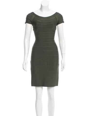 Herve Leger Bandage Mini Dress None