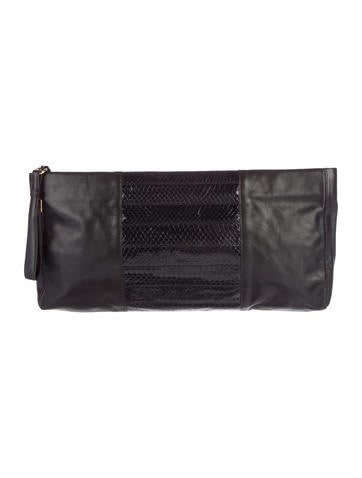 Herve Leger Dita Clutch None