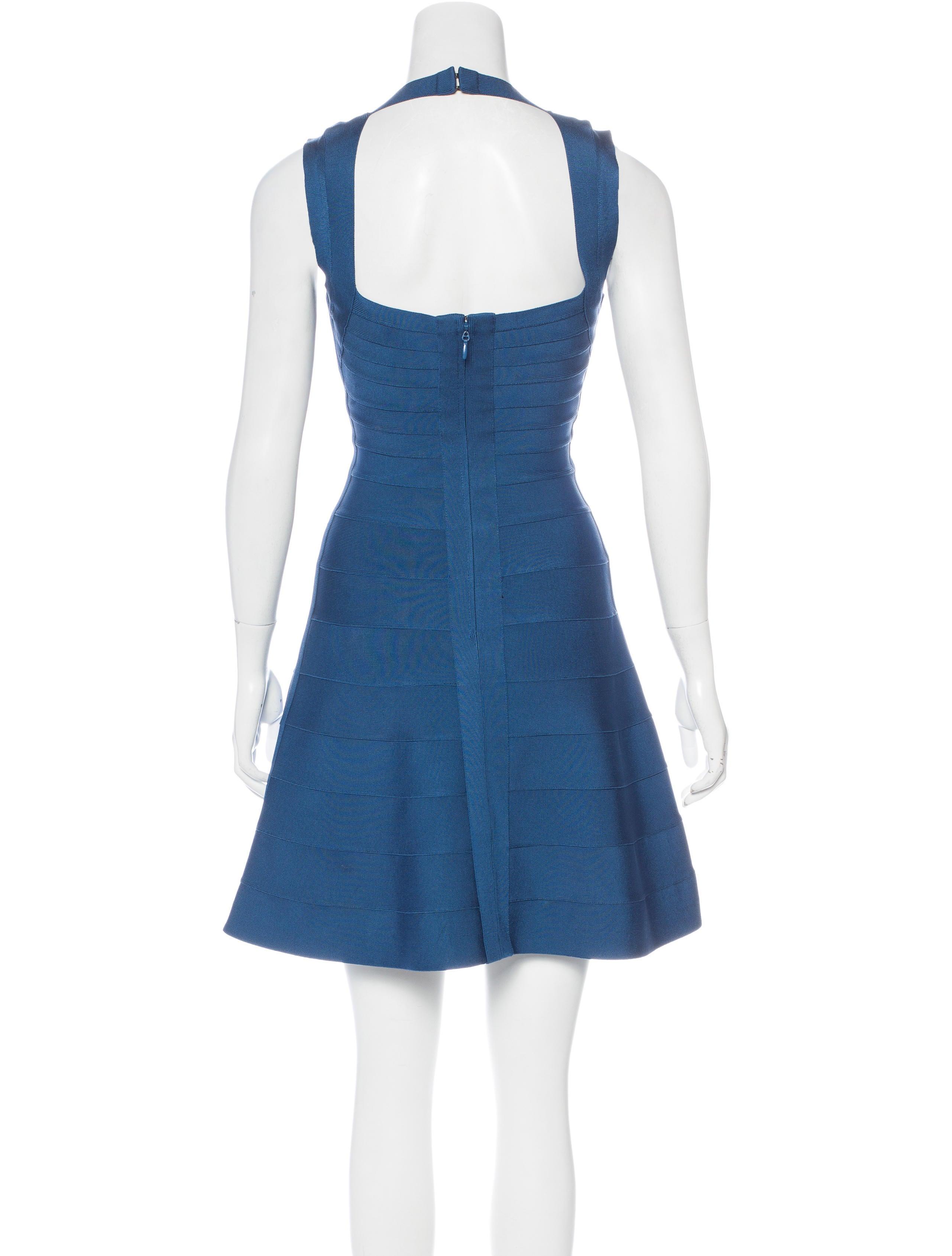Herve Leger Bruna Bandage Dress - Clothing