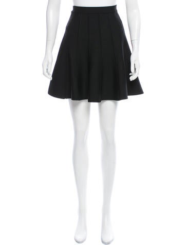 Herve Leger Trish Mini Skirt w/ Tags None