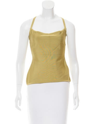 Herve Leger Sleeveless Bandage Top None
