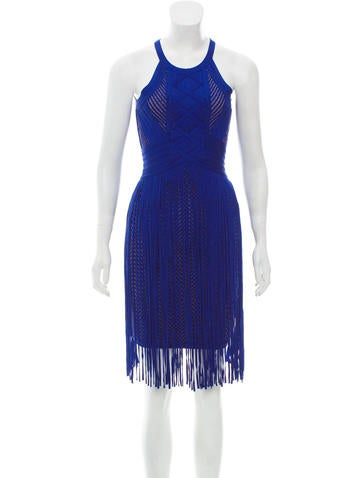Herve Leger Mahala Mini Dress None