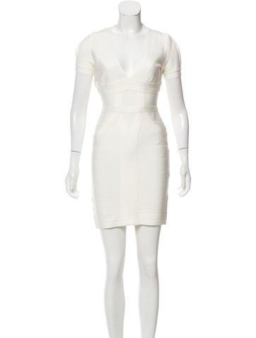 Herve Leger Wynn Bandage Dress w/ Tags None