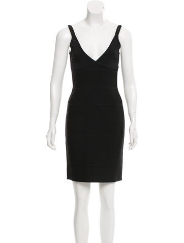 Herve Leger Bandage Dress None