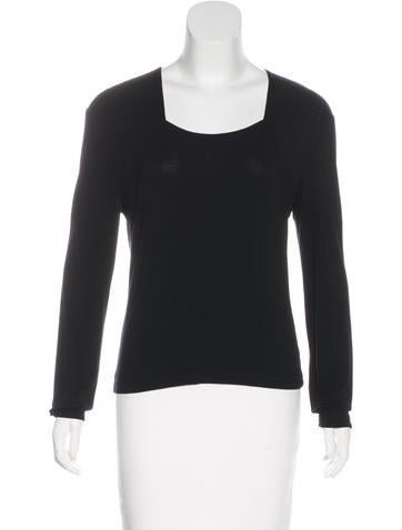 Herve Leger Long Sleeve Top None