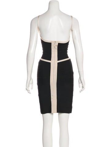 Sleeveless Bandage Dress