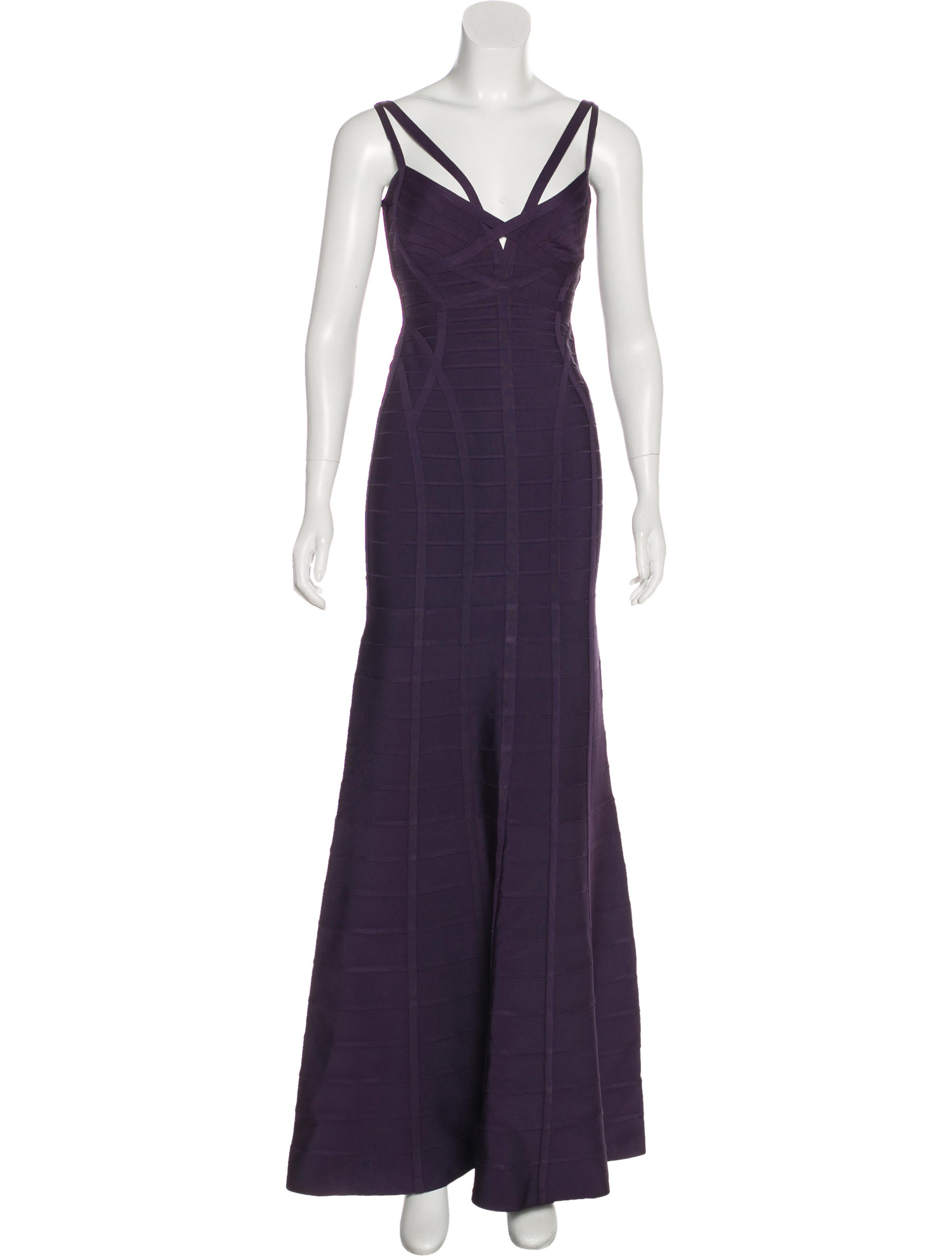 Herve Leger Adalia Bandage Gown - Clothing - HEV35260 | The RealReal