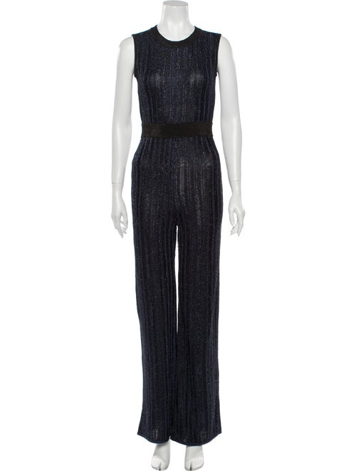 Herve Leger 2020 Metallic Eyelash Jumpsuit w/ Tags