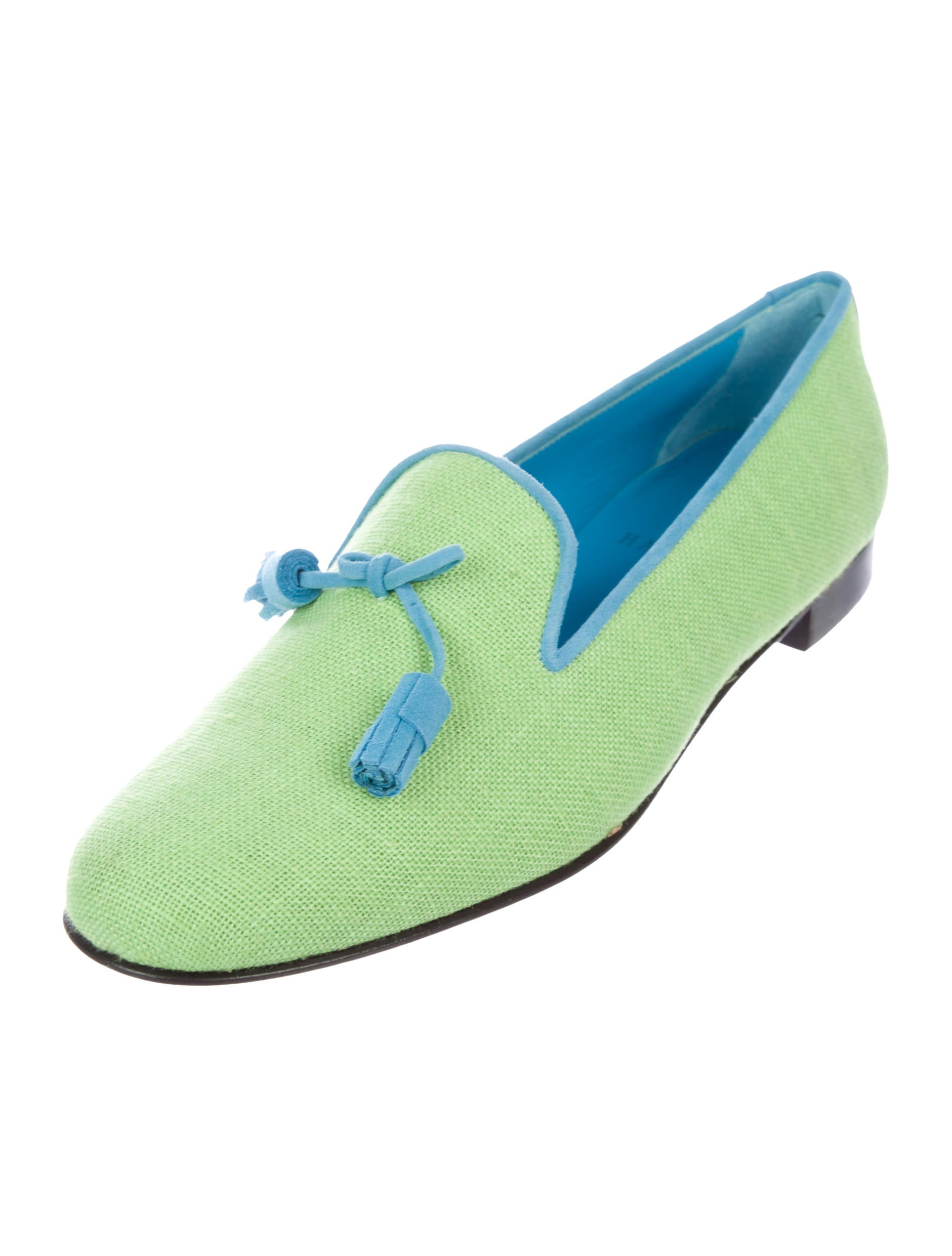 Hadleigh's Canvas Round-Toe Loafers buy cheap latest sQ8uiwOr