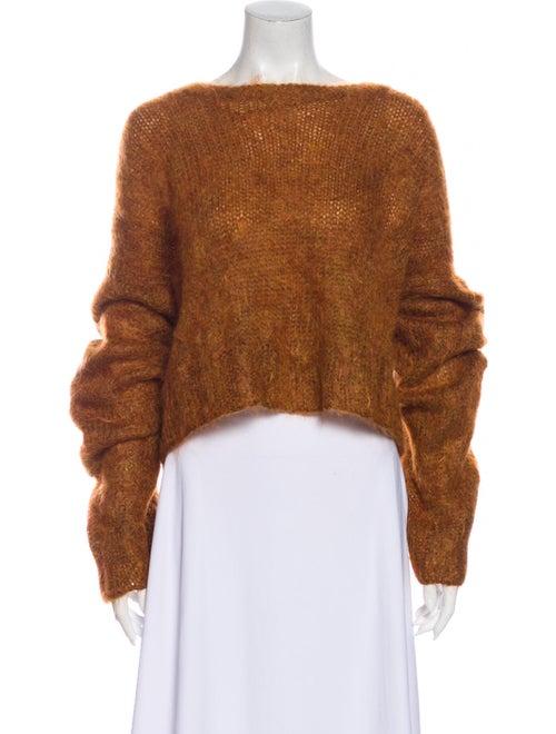Hillier Bartley Bateau Neckline Sweater Orange