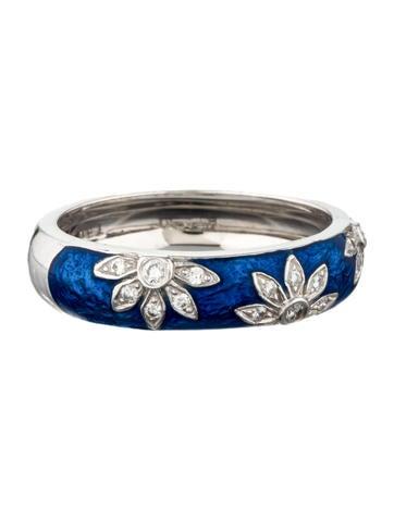 Diamond Flower Stack Ring