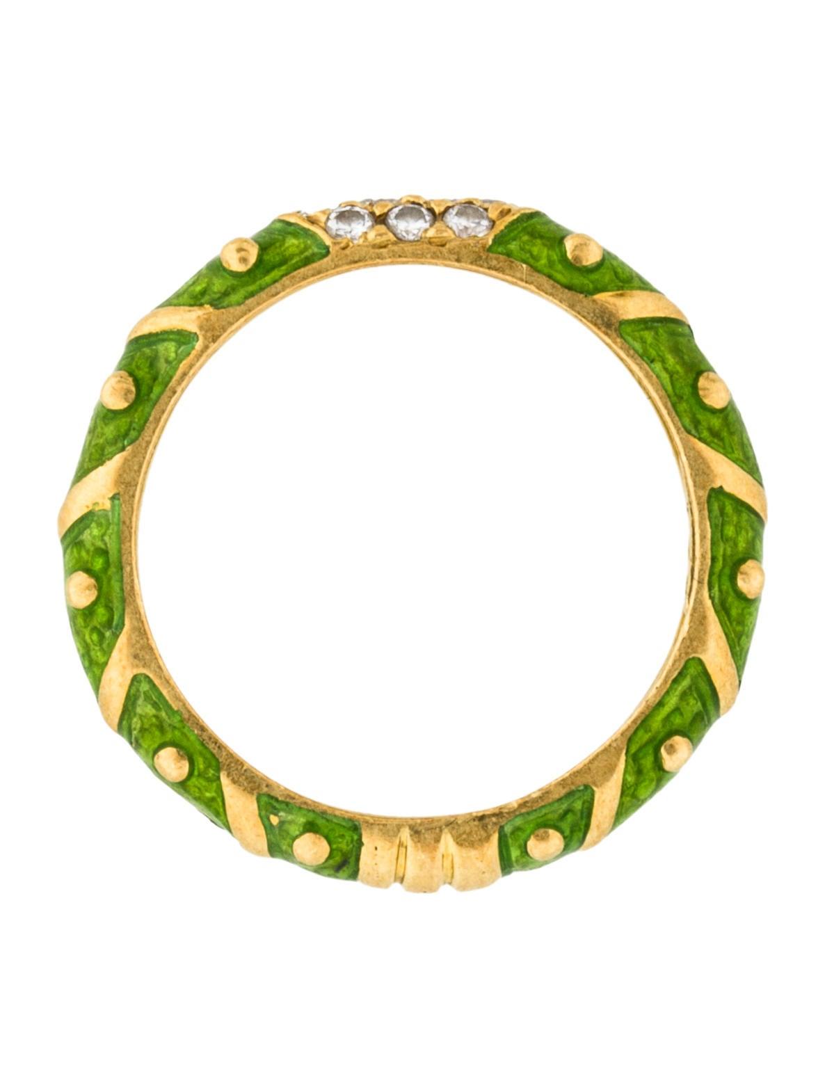 Enamel Rings By Hidalgo Jewelry