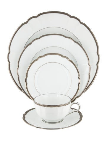 Haviland Colette Platinum Place Setting None