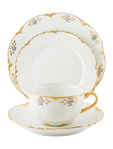 Haviland 33-Piece Dessert Service None