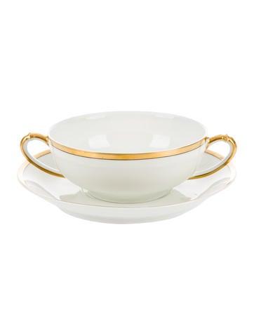 12-Piece Bouillon Cups & Saucers
