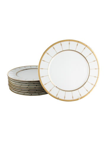 Haviland Tambour Dinner Plates w/ Tags None