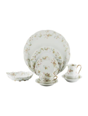 Haviland 30-Piece The Princess Partial Dinner Service None