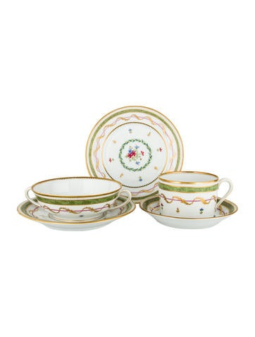 Haviland 10-Piece Vieux Paris Service None