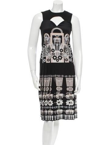 Holly Fulton Silk Dress w/ Tags