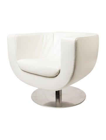 B&B Tulip Swivel Lounge Chair