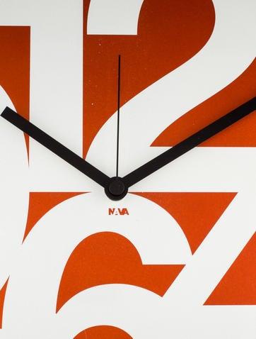 Nava Wall Clock w/ Tags