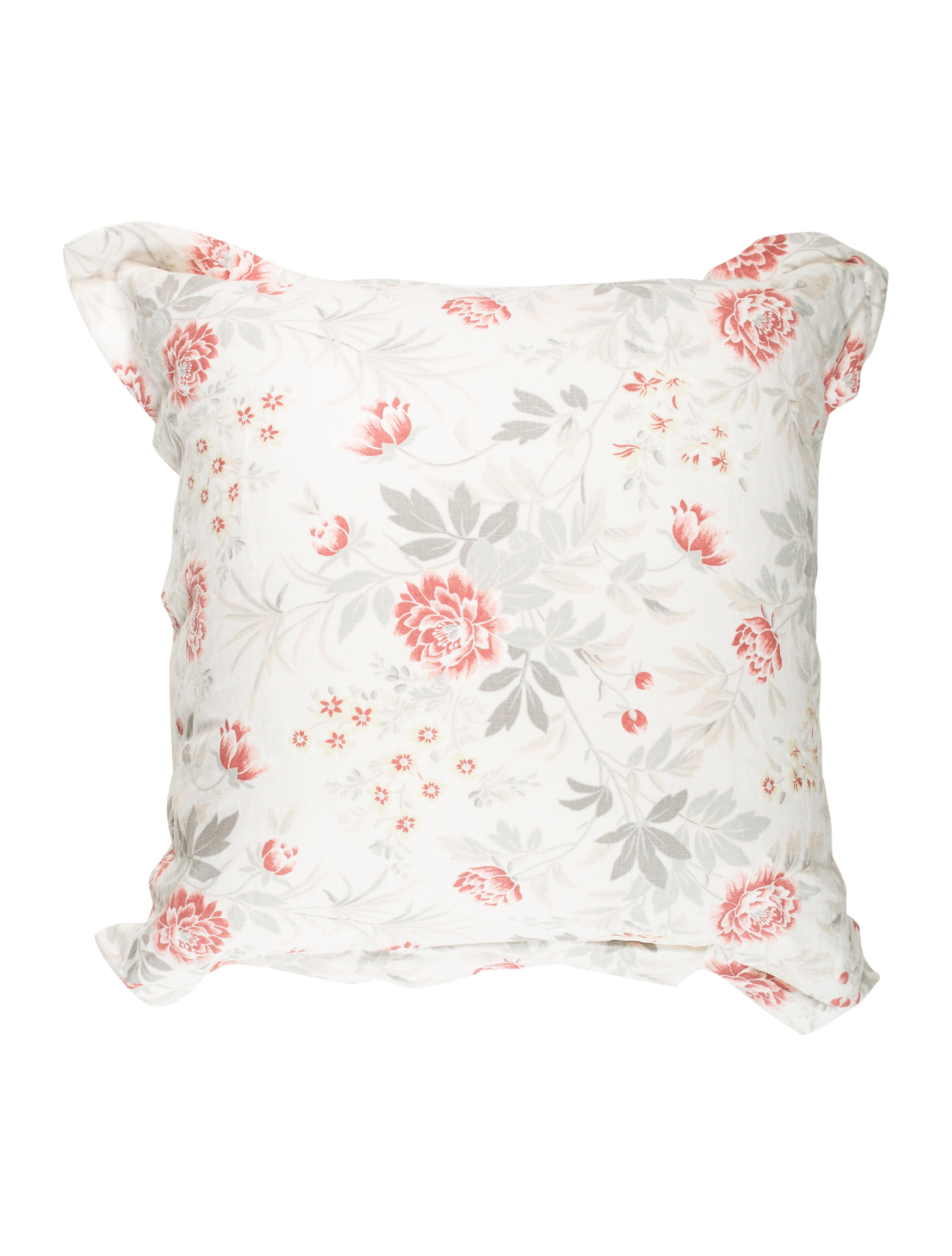 Lavender Throw Pillows : Home Linen Floral Throw Pillow - Bedding And Bath - HME21189 The RealReal