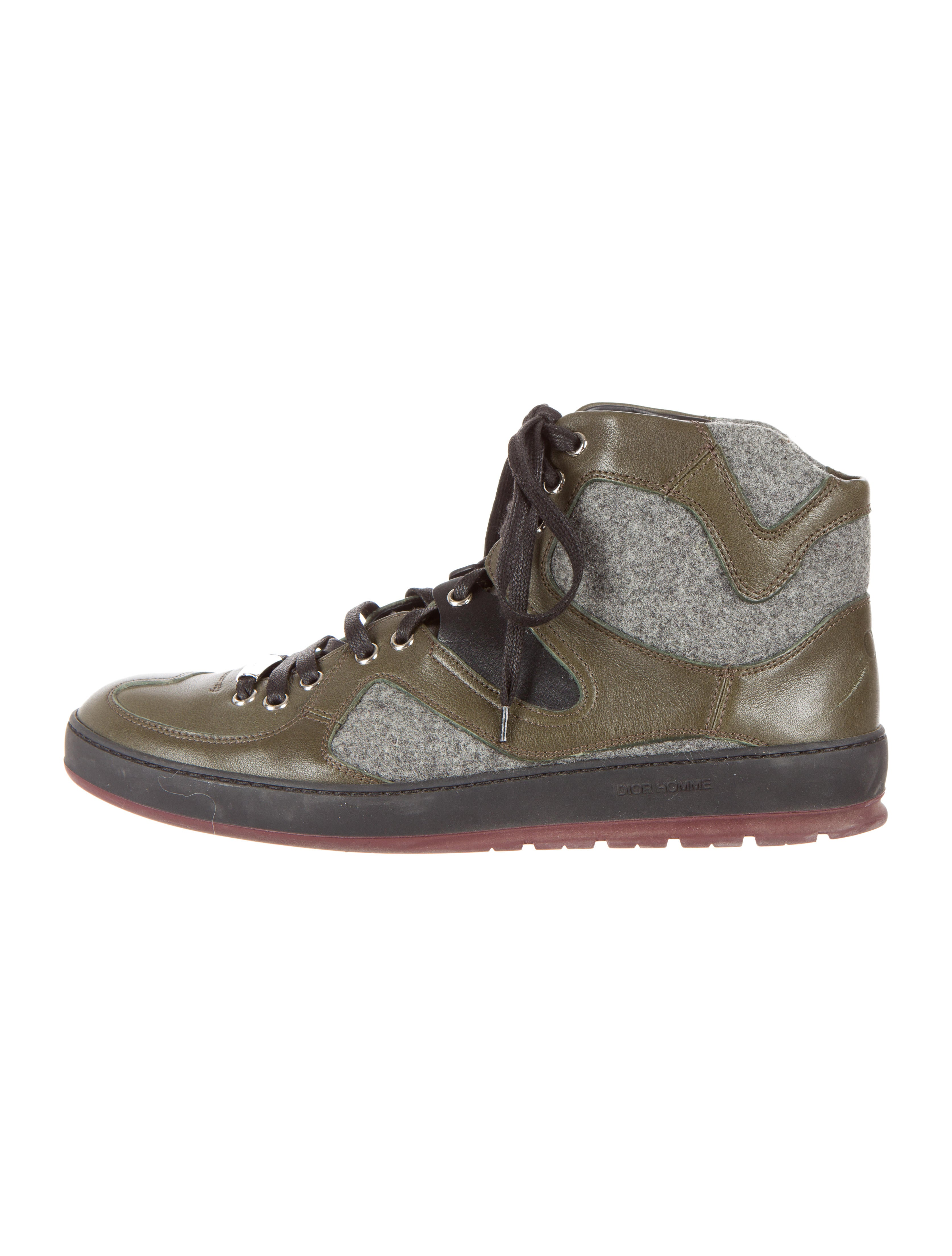 Dior Homme High-Top Sneakers - - 733.4KB