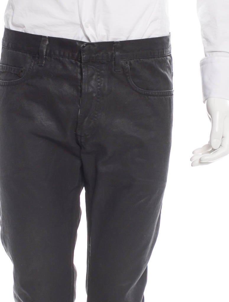 dior homme wax denim jeans clothing hmm21078 the. Black Bedroom Furniture Sets. Home Design Ideas