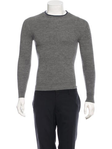 Dior Homme Classic Virgin Wool Sweater None