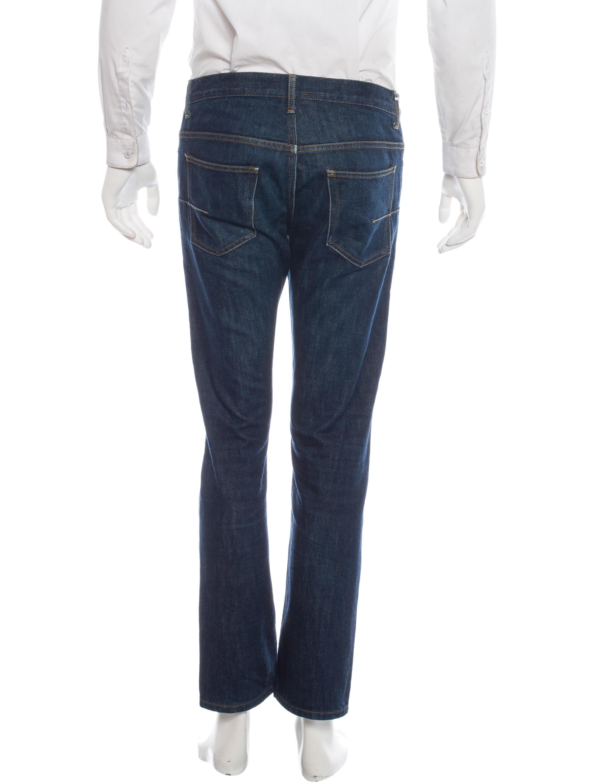 dior homme five pocket tapered jeans clothing hmm22035. Black Bedroom Furniture Sets. Home Design Ideas