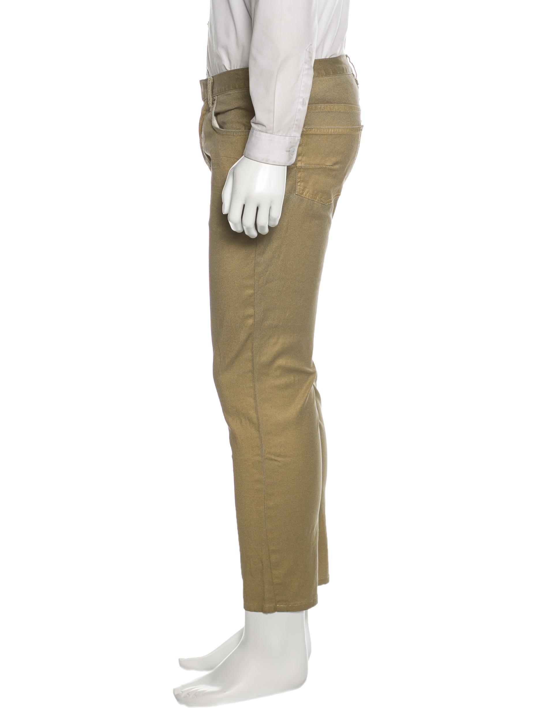 dior homme glitter slim jeans clothing hmm22060 the realreal. Black Bedroom Furniture Sets. Home Design Ideas