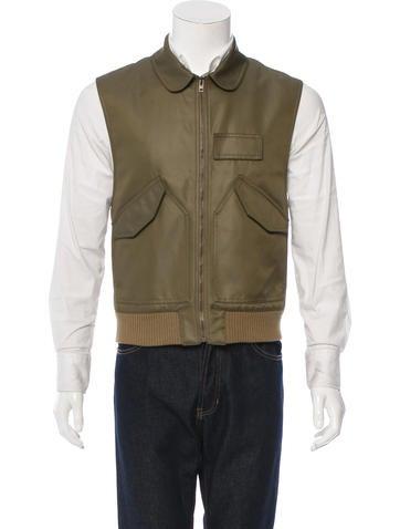 Dior Homme Lightweight Zip-Up Vest None