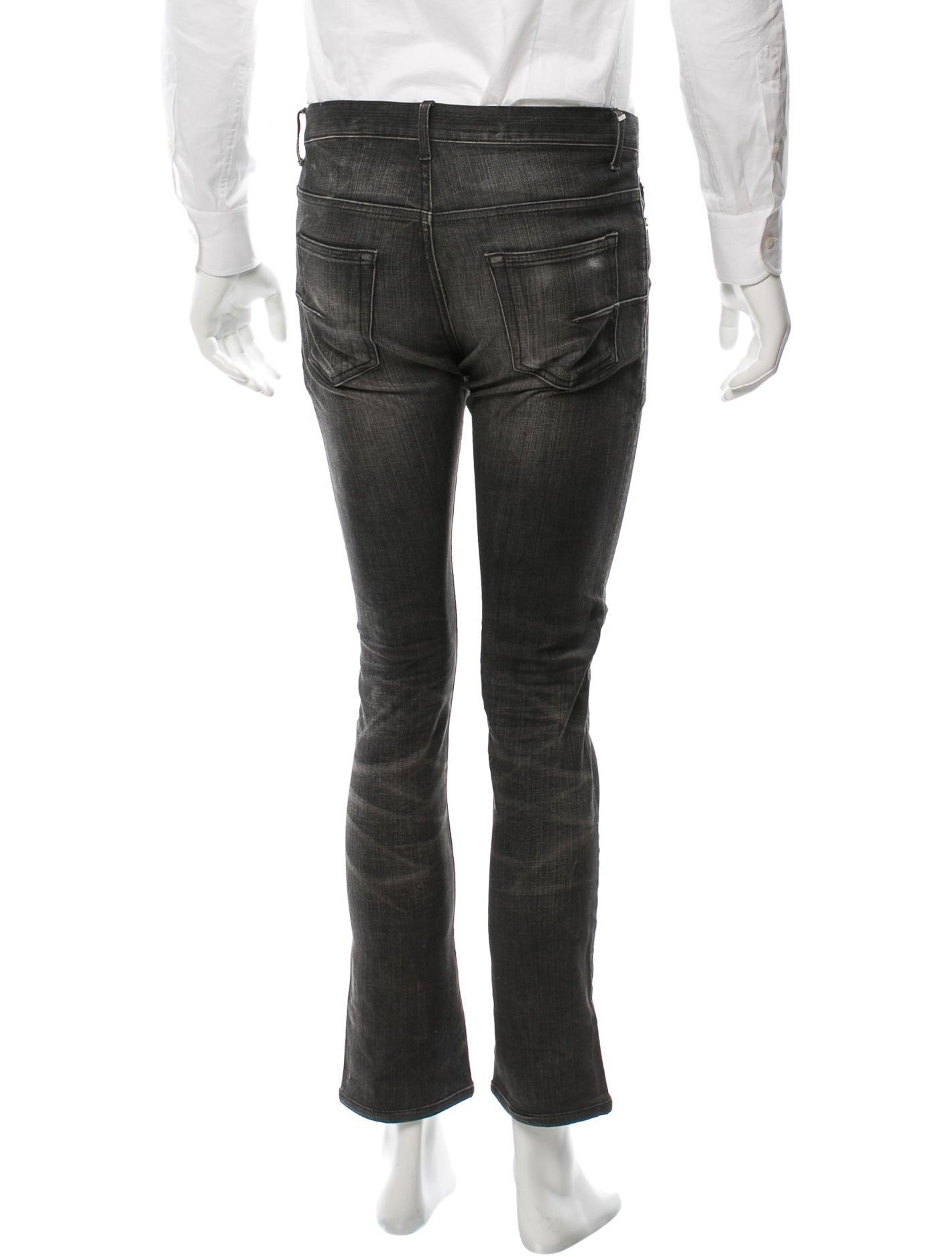 dior homme slim straight leg jeans clothing hmm22208 the realreal. Black Bedroom Furniture Sets. Home Design Ideas