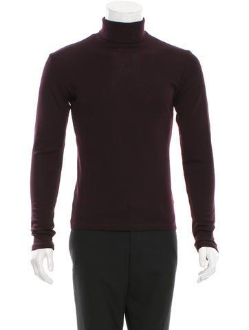Dior Homme Wool Turtleneck Sweater None