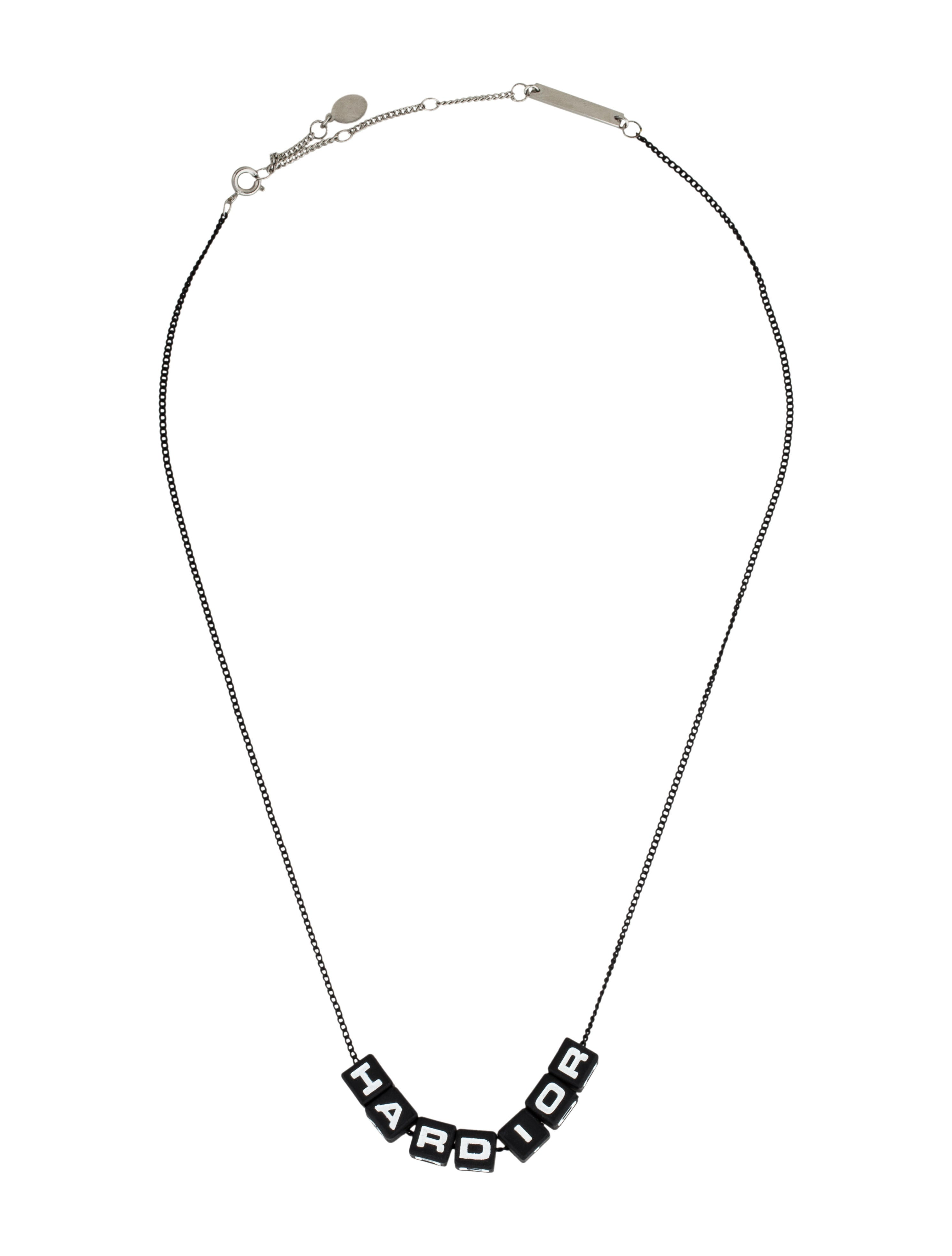 dior homme hardior chain necklace necklaces hmm22404 the