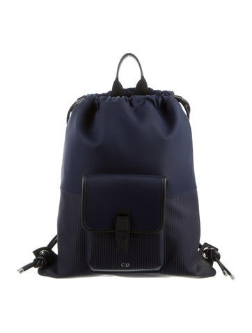 2016 Leather-Trimmed Backpack w/ Tags
