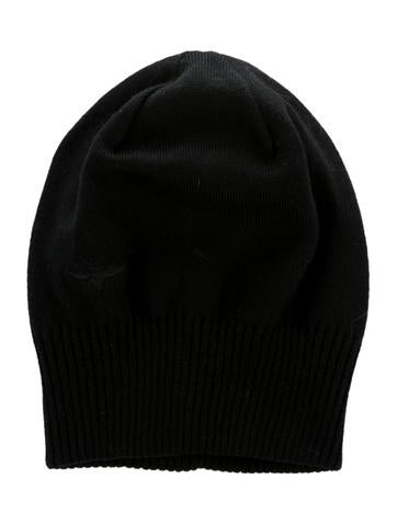 Dior Homme Wool Rib Knit-Trimmed Beanie None