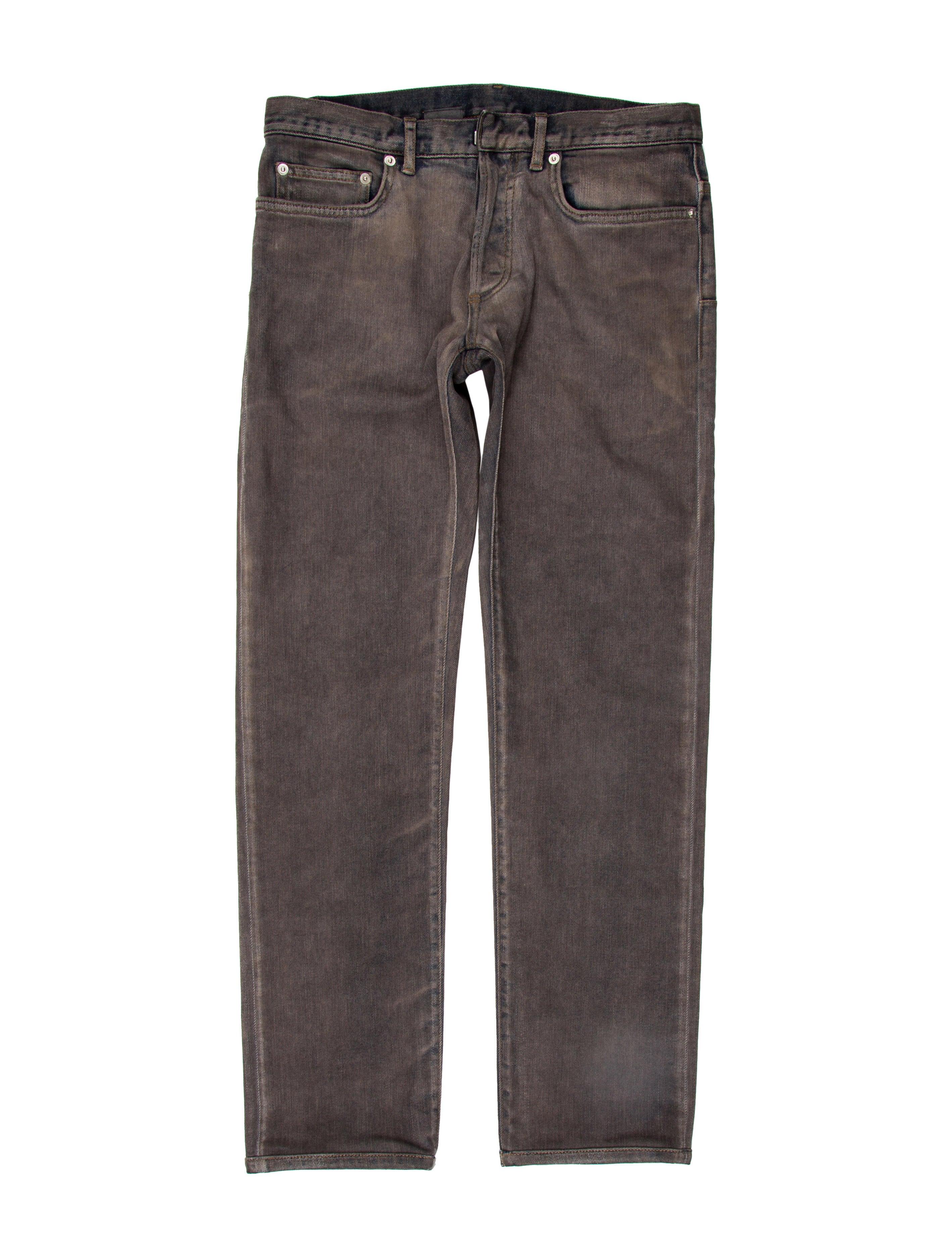 dior homme five pocket skinny jeans clothing hmm22720 the realreal. Black Bedroom Furniture Sets. Home Design Ideas